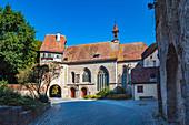 St. Wolfgangskirche am Klingentor, Rothenburg ob der Tauber, Bayern, Deutschland