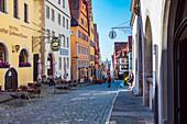 On the market, Rothenburg ob der Tauber
