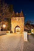 Einersheimer Tor in Iphofen, Kitzingen, Unterfranken, Franken, Bayern, Deutschland, Europa