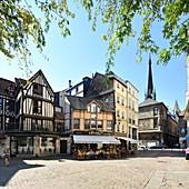 France, Seine Maritime, Rouen, Place Barhelemy