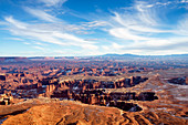 Grand View Point Overlook, Canyonlands National Park, Moab, Utah, Usa