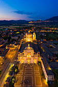 The Basilica of St. Mary of the Angels, Assisi, Perugia district, Umbria, Europe