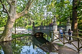Italy, Lombardy, Milan, the park Sempione