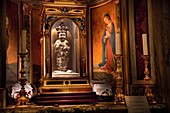 Italien, Latium, Rom, Aracoeli, Historisches Zentrum, UNESCO-Weltkulturerbe, Santo Bambino, das von Römern so verehrte Jesuskind