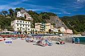 Italy, Liguria, Cinque Terre National Park listed as World Heritage by UNESCO, Monterosso al Mare