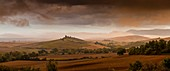 Italy, Tuscany, Val d'Orcia listed as World Heritage by UNESCO, countryside near Pienza