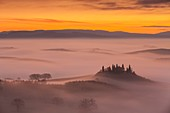 Italy, Tuscany, Siena district, Orcia Valley, listed as World Heritage by UNESCO, Podere Belvedere near San Quirico d'Orcia