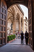 Italy, Tuscany, Florence, historical centre listed as World Heritage by UNESCO, Vecchio palace