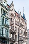 The central Ulica Piotrkowska (Petrikauer Strasse), in Lodz, Poland, Europe