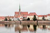 The Cathedral Island, Ostrów Tumski, Wroclaw, Poland, Europe