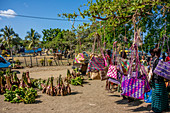 Market on Tanna, Vanuatu, South Pacific, Oceania