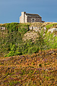 The old stone house at Cap Erquy was once built by the coast guard / customs. Maison du Douanier