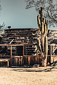Mane Street in Pioneertown, Joshua Tree National Park, California, USA, North America
