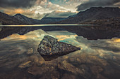 Dove Lake in Cradle Mountain National Park, Tasmania