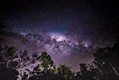 Milchstraße über Coles Bay, Tasmanien