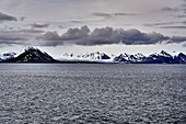 View from Isfjord to Svalbard, Arctic Ocean, Norway
