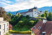 Oberstadt in Bregenz, Vorarlberg, Österreich