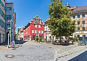 Hussenstraße in Konstanz, Baden-Württemberg, Deutschland
