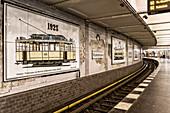 U-Bahn Station Klosterstraße, Berlin Mitte, Deutschland