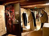 Klosteranlage und Museum Walkenried, Mittelalter, Innen, Figuren, Mönche, Zistersienser, Südharz, Niedersachsen, Deutschland