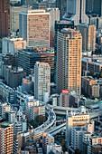 Japan ,Tokyo City, Minato Ku , shuto expressway
