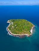 Coral Island, Rincon de Guayabitos, Compostela municipality, Pacific Ocean, Riviera Nayarit, Nayarit State, Mexico, Central America, America