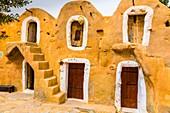 Ksar Hadada. Tunisia, Africa.