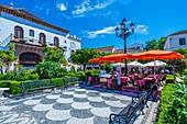 Plaza de los Naranjos, Marbella, Andalucia, Spain, Europe