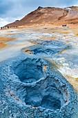 Geothermal field of Hverir, Northwestern Region, Iceland