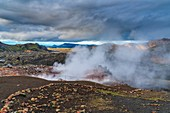 Landmannalaugar, Fjallabak Nature Reserve, Highlands of Iceland, Southern Region, Iceland