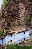 gr53, Maisons des rochers Graufthal Eschbourg troglodyte troglodytique Vosges du Nord, commune de graufthal, bas rhin, alsace, france