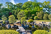 Kyoto Japan. Nijo Castle. Gardens