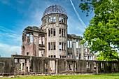 Hiroshima Japan. Hiroshima Peace Memorial (Genbaku Dome)