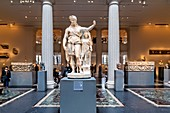 New York. Manhattan. The Metropolitan Museum MET. Greek and Roman Art Wing