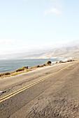 Road on the way to Jalama Beach, California, USA.