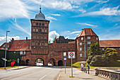 Castle gate in Luebeck, Schleswig-Holstein, Germany