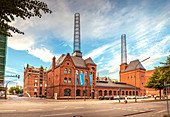 The boiler house in HafenCity, Hamburg, Germany
