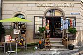 Blick auf das Dackelmuseum in Passau, Niederbayern, Bayern, Deutschland, Europa