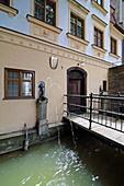Well keeper's house, Augsburg, Swabia, Bavaria, Germany