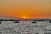 Sunset at Heraklion, Crete, Greece