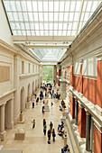 Carroll and Milton Petrie European Sculpture Court, Metropolitan Museum of Art, Manhattan, New York City, USA, North America