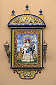 Decorative Tiles in Seville, Spain