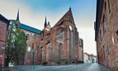 St.-Georgen-Kirche in Wismar, Mecklenburg-Vorpommern, Deutschland
