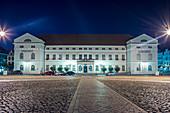 Rathaus von Wismar, Mecklenburg-Vorpommern, Deutschland
