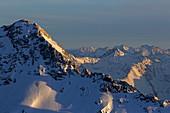View from Zugspitzplatt, Zugspitze, Garmisch-Partenkirchen, Werdenfelser Land, Upper Bavaria, Bavaria, Germany