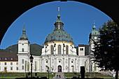 Kloster Ettal, Werdenfelser Land, Oberbayern, Bayern, Deutschland