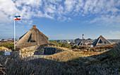 Dorf und Leuchtturm Hörnum, Sylt, Schleswig-Holstein, Deutschland