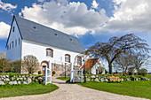 Church of St. Martin in Morsum, Sylt, Schleswig-Holstein, Germany