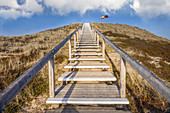 Lookout point on the dunes near List, Sylt, Schleswig-Holstein, Germany