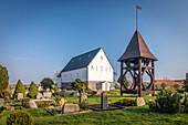 Church of St. Martin zu Morsum, Sylt, Schleswig-Holstein, Germany